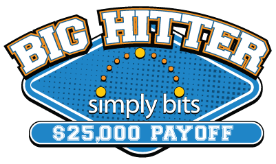 Big Hitter $25,000 Pay Off Promotion from Simply Bits